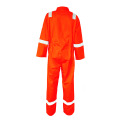 Flame retardant Cotton reflective tapes coverall