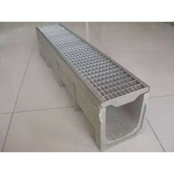 Polypropylene Drainage Channel with Polypropylene Grate