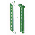 Cable Tray Accessories T-Iron Mounting Support Column