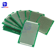 diymore 10PCS/Lot 4 x 6cm Double Sided PCB Universal Prototyping Printed Circuit Board FR4 PCB 40*60mm