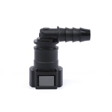 Fuel Quick Connector 9.89 (10) - ID8 - 90° SAE