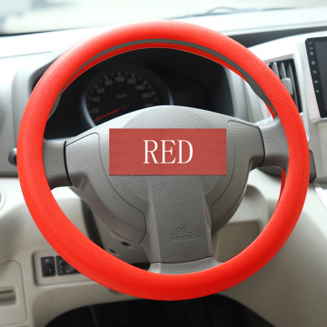 Antiskid Universal Silicone Car Steering Wheel Protect Cover