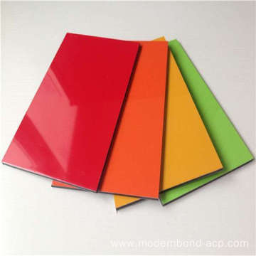 High Gloss ACP Panel Colors