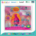 DREAMWORKS TROLLS colouring set