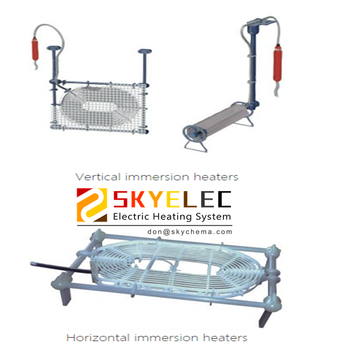 FLUOROPOLYMERS IMMERSION HEATERS