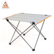 Table de camping roulante Alumnium Gris Ultralight Gris