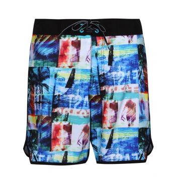 4way Stretch Blue Man Swimwear
