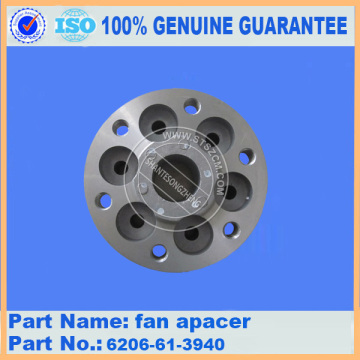 Komatsu spare parts PC60-7 fan spacer 6206-61-3940