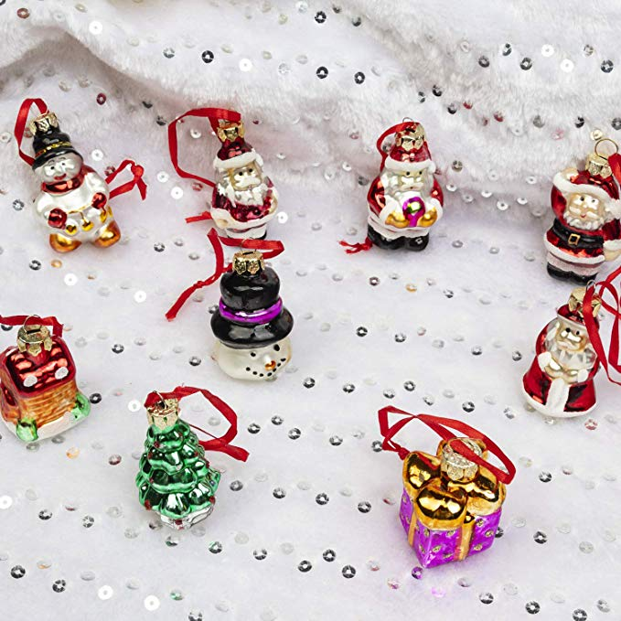 Mini Glass Ornaments