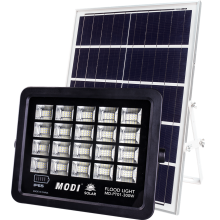 solar motion sensor flood light