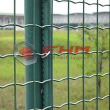 PVC Galvanized Welded Wire Euro Fence