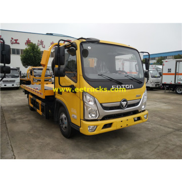 Foton 3ton Flatbed Wrecker Trucks