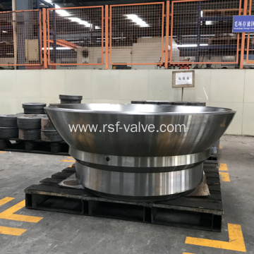 Ball Valve Part-Fully Welded Valve Closure Body