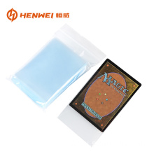 plastic card sleeve protector inter sleeves cover bag