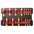 VDE 14pcs nuts and precision screwdriver