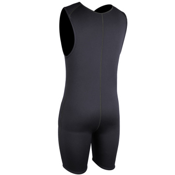 Seaskin 2mm Front Zip Short John Springsuit