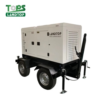 Cummins Engine Diesel Generator with Trailer