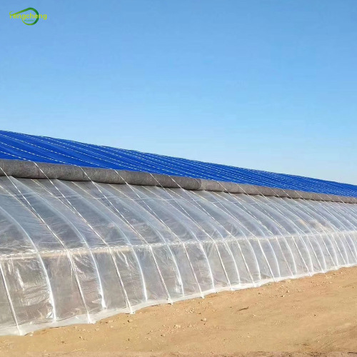 transparent woven poly greenhouse film