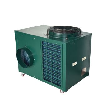 Mobile air conditioner for temporary buildings