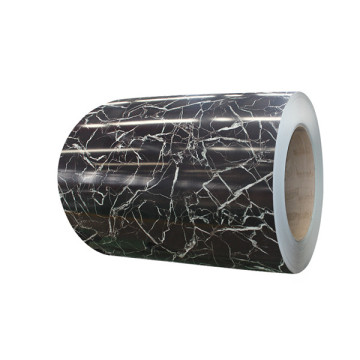 pvc film laminated steel marble pattern