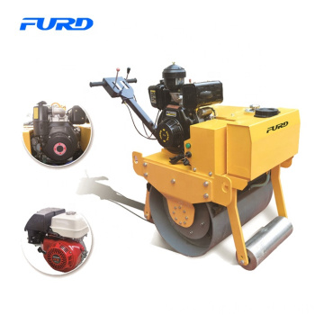 Hand Push Mini Road Roller with Engine Optional