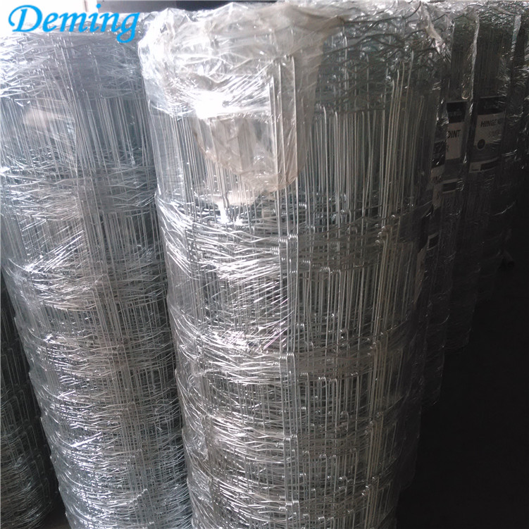 Factory Durable Direct Sale Galvanized Field Fence