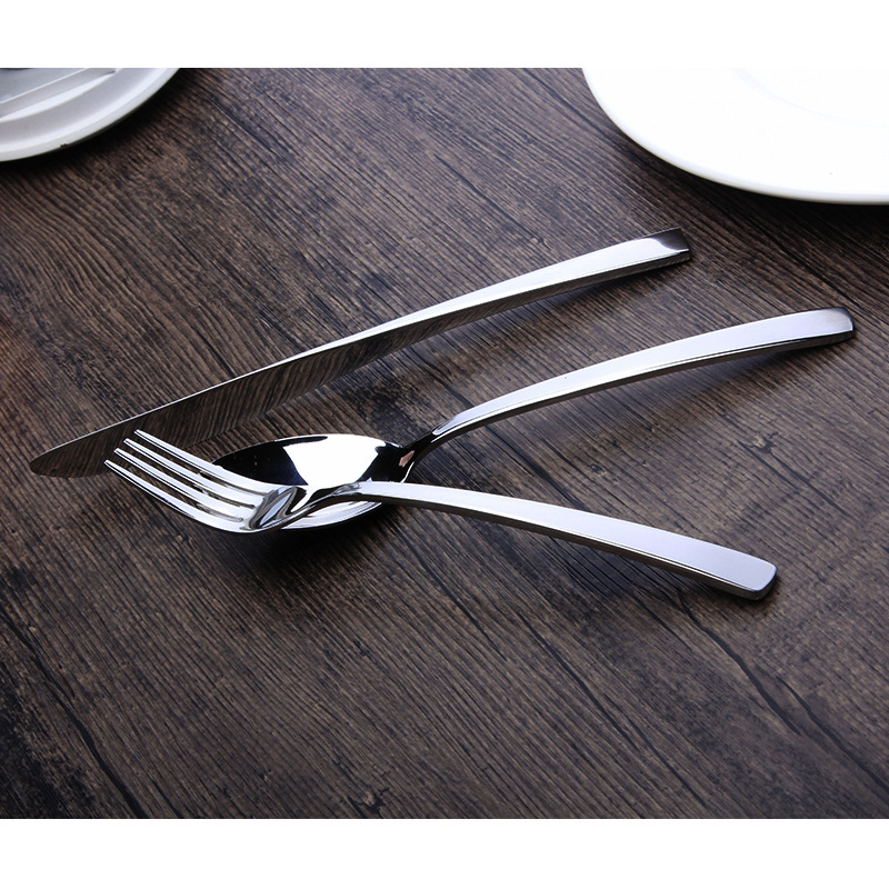 18/8 Bright Stainless Steel Tableware