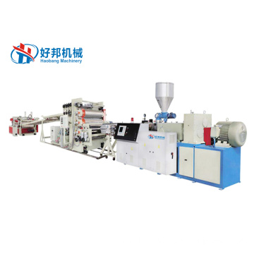PROFESSIONAL HIGH EFFICIENT PVC FREE FOAM SHEET MACHINE