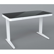 Height adjustable standing tabletop desk