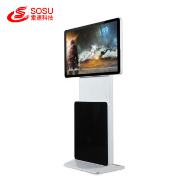 43 inch Floor Standing rotate screen advertising player