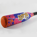 Customized printing soft baseball bat set for kids