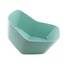 Kitchen Plastic Wash and Drain Mixing Bowl Colander