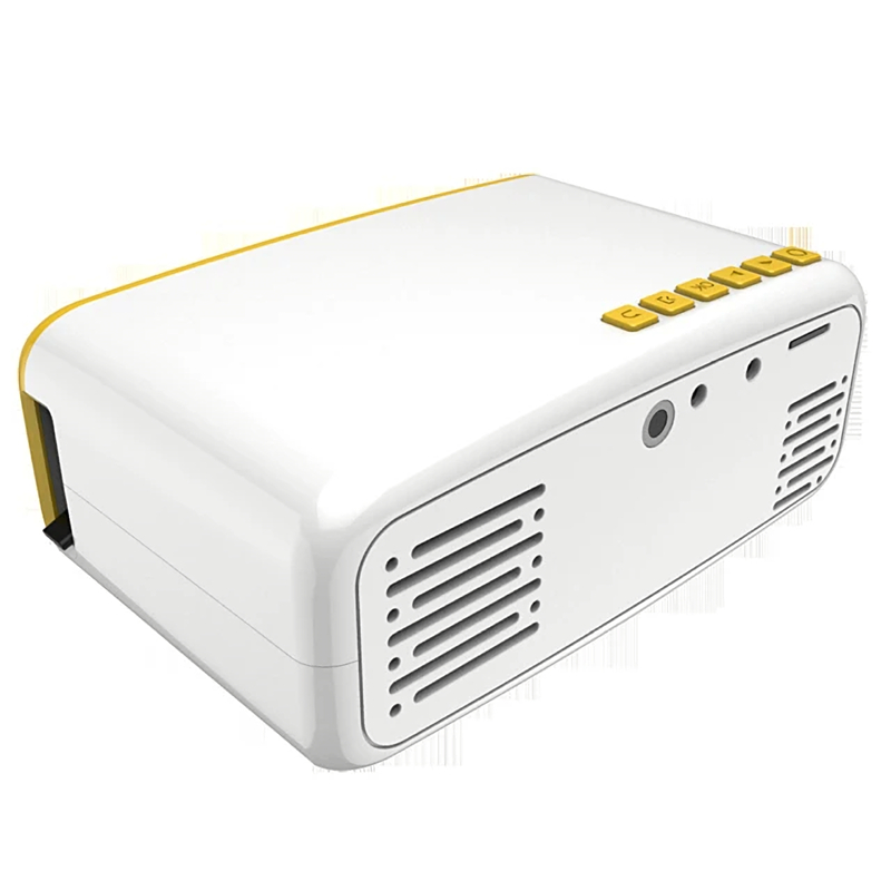 EU 5V MINI Projector 99 Lumen LCD NR18 LED 320*240 Home Entertainment Multi-functional Portable Early Education Projector