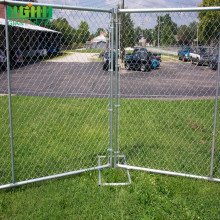 ISO9001 PVC Coated Military Chain Link Fence