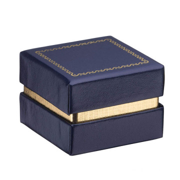 2PC Box Necklace box Navy Blue Jewelry box