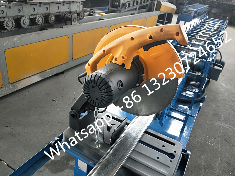garage door rolling shutter machine