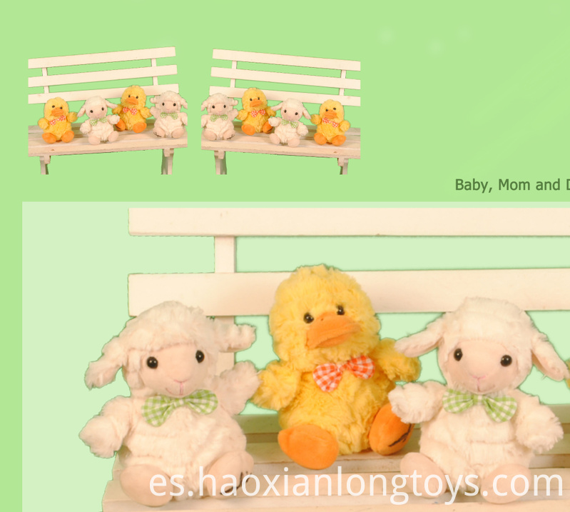 Mini Duck and Sheep Toys