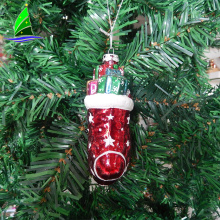 Christmas decoration ball ornament glass sock figurines