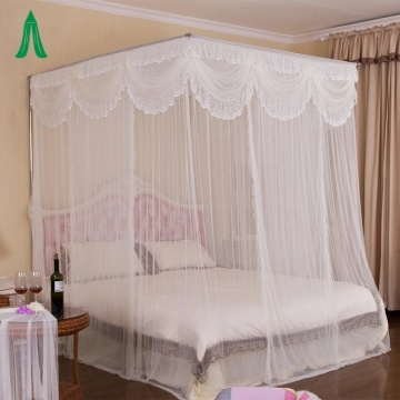 Square Romantic Bed Canopy Princess Mosquito nets