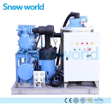 Snow world 5T Flake Ice Machine Sea Water