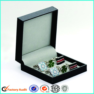 New Design Flip Top Cufflinks Packaging Box