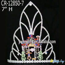 Christmas Crown Holiday Hair Tiara