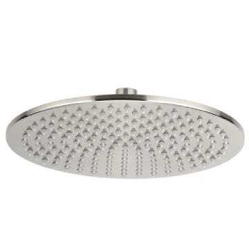Luxury Brushed Nickel Brass Shower Head