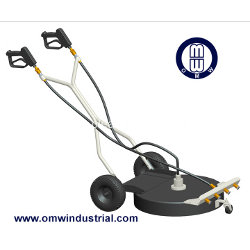 "30"" Dual Trigger Surface Cleaner with 4 tip Water Broom"