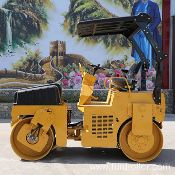 3 Ton Soil Compactor Double Drum Small Road Roller (FYL-203H)