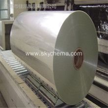 Clear frosted inkjet film for lithographic printing