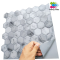 Waterproof  mosaic tile stickers bathroom