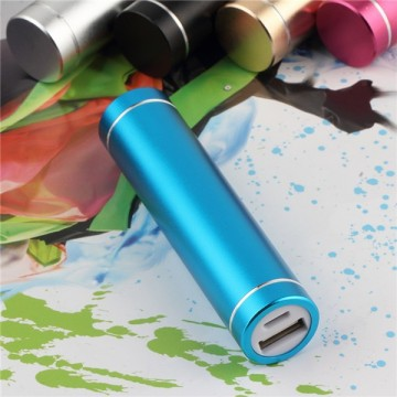 Multi Colors Cylindrical Power Bank Xiaomi 2200mah