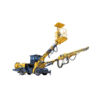 Retractable Truck Mounted Rock Drilling Jumbo