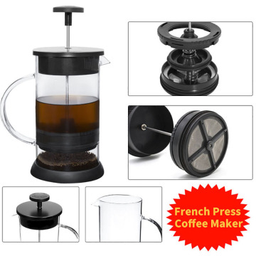 1000ML Stainless Steel Coffee Pot Cafetiere French Press With Filter Double Wall Insulation Design Polish Process Pot Cup